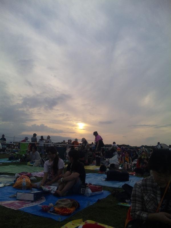 @hira_yuki0871: 太陽さんまた会いましょう!ノシ #rsr10